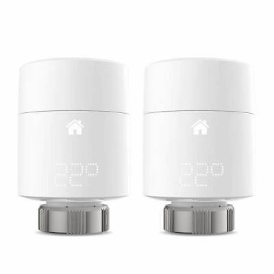 2x tado° Smart Radiator Thermostat Vertical Mount Add-on Duo Pack Brand New