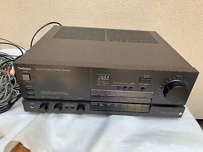 Technics SU-V85A Class AA Stereo Integrated Amplifier, Amp,  Working