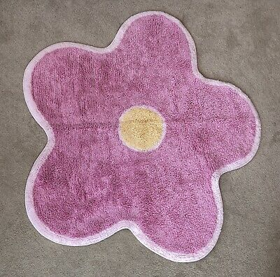 Next Girls Flower Rug Bedroom / Nursery / Playroom