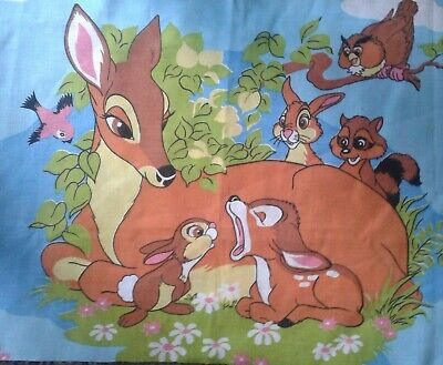 DISNEY BAMBI PANEL NUTEX PATCHWORK FABRIC 39250
