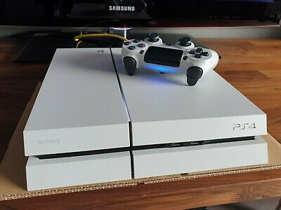 Sony PS4 PlayStation 4 500GB Console - White CUH-1116A