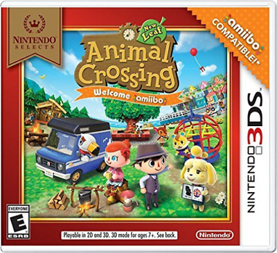 3Ds Simulation-Nintendo Selects: Animal Crossing New Leaf W (Us Import) 3Ds New