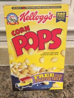 Kelloggs Corn Pops Cereal Box With Mail In Coupon Offer For Collector Truck