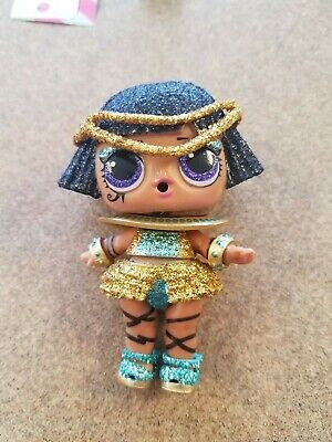 LOL Surprise Sparkle Series PHARAOH BABE Egyptian Glitter doll BRAND NEW!