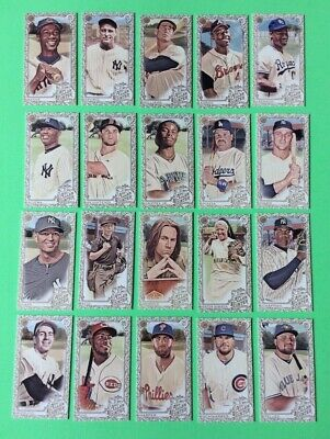 2019 Allen & Ginter . MINI  GOLD BORDER . COMPLETE YOUR SET . Pick 5  from  list