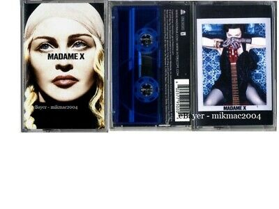 MADONNA MADAME X Cassette Pack of 3  BLUE UK + DELUXE + EXCLUSIVE tape set New