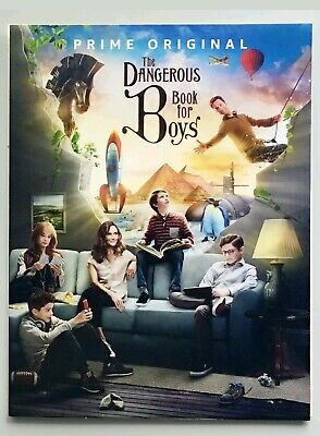 THE DANGEROUS BOOK FOR BOYS 2018 Emmy FYC DVD Complete Season 1 Free Shipping