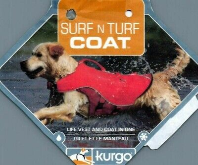 Kurgo Surf N Turf Dog Life Jacket Medium