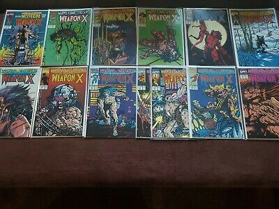 WOLVERINE, WEAPON X 72-84 full set VF 1st apparence Weapon X