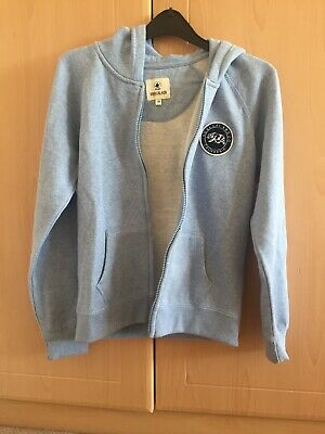 Girls Soulcal & Co Light Blue Fleece Hoodie Age 13 Years