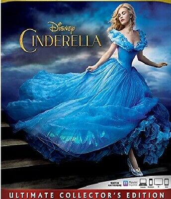 CINDERELLA Blu-ray Only Disc Please Read