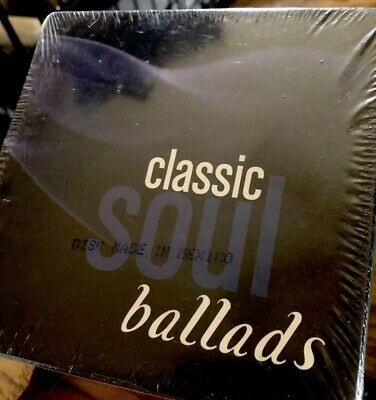 Classic Soul Ballads 144 Songs on 10 CD Time Life Black Motown Music Sealed NEW