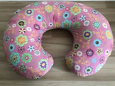Chicco Boppy Pillow Breastfeeding In Cotton Lining Color Wild Flowers