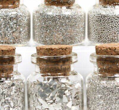 Signature Essentials - Silver Glitters - German Glass Glitter - 311-M-0623