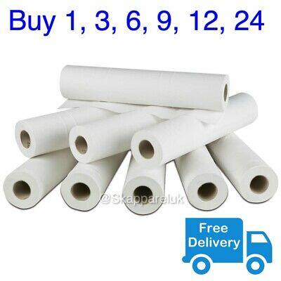 "White Couch Roll Bed Cover Paper 20"" 40M Hygiene GP Beauty Salon Massage Table"