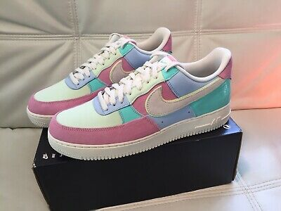 NIKE AIR FORCE 1 Low '07 QS Easter Ice BlueSail Mens Size