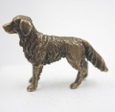 Handmade Pure Copper Antique Little Dog Zodiac Statue Decoration Collection Gift