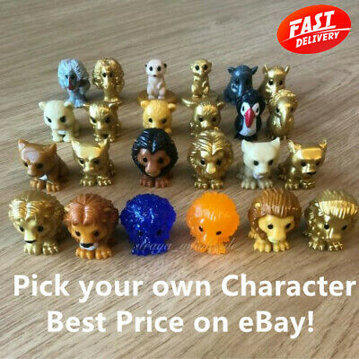Woolworths The Lion King OOSHIES Pick Your Own Rare Simba Mufasa Scar Nala Case