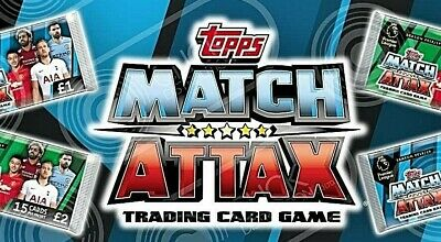Match Attax Premier League 18/19 Exclusive Mega Tin Cards #Mt1-Mt60 - Use Basket