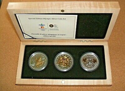 2010 Canada Olympic Vancouver Coin Set
