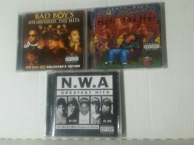 NOTORIOUS BIG POPPA  snoop dogg nwa P Diddy mase all the greatest hits 3 cds 90s