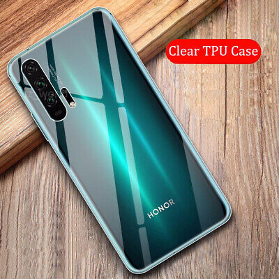 For Huawei Honor 20 10 9 Lite 8A Ultra-thin Soft Transparent TPU Back Case Cover
