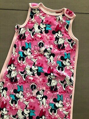 Size 3-6M (00) ~ DISNEY ~ Minnie Mouse Side Zip Sleeping Bag ~ IMMACULATE!