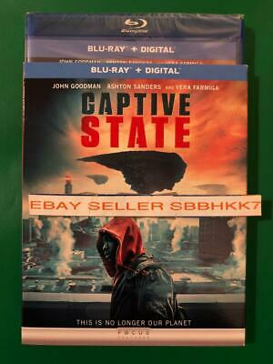 Captive State Blu-Ray + Digital HD & Slipcover Brand New Free Shipping