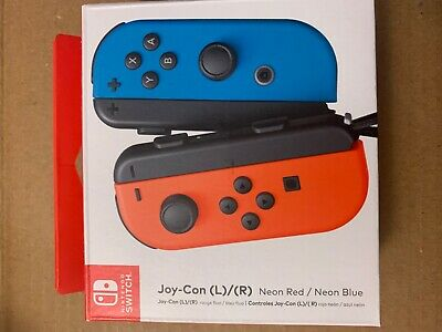Nintendo Switch Red/Blue Joy Con L/R Controller Used