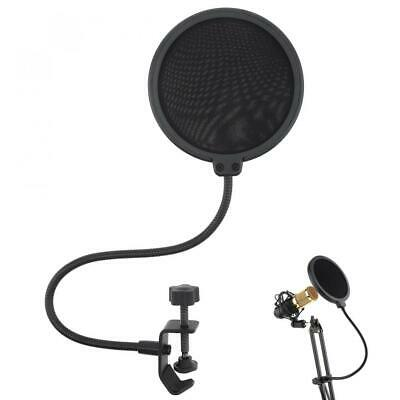 Studio Microphone Flexible Wind Screen Mask Mic Pop Filter Shield for recording