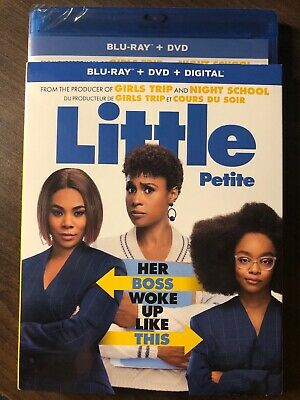 Little 2019 Blu-Ray & DVD w Slipcover Canada Bilingual NO DC LOOK