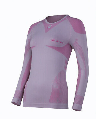 Forcefield Ladies Base Layer Shirt  - Pink - FF6021