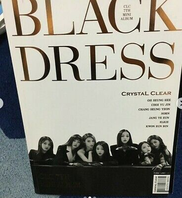 CLC 7th mini Album- BLACK DRESS CD+146p photobook KPOP