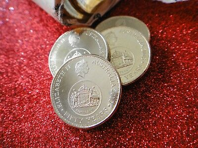 2016 Australian $1 One Dollar Coin Changeover From RAM Mint Roll  Ucirculated
