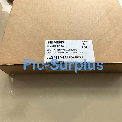 1PC New In Box Siemens 6ES7417-4XT05-0AB0 6ES7 417-4XT05-0AB0 DHL Free