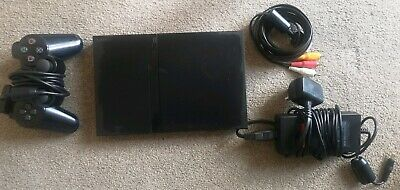 **Sony Playstation 2 Slime Console Black**