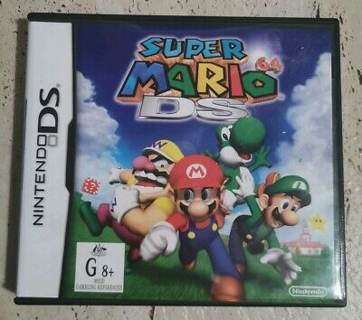 SUPER MARIO 64 DS, aus pal genuine. Nintendo Ds Game