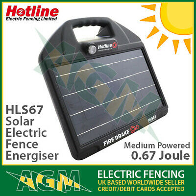 Electric Fence Hotline Phoenix Mains Powered Energiser 7-25J With SMS Module