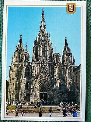 BARCELONA, CATALUNYA, SPAIN - The Cathedral