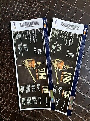 Sting Tickets 29.07.19 Lucca Summer Festival