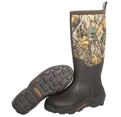 Muck Boot WDM-RTE-RTR-110 Woody Max Waterproof Rubber Hunting Boots, Size 11