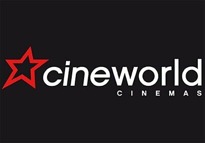 1 x Cineworld cinema tickets ANY DAY Adult Kids-NO BOOKING FEES-Email Delivery