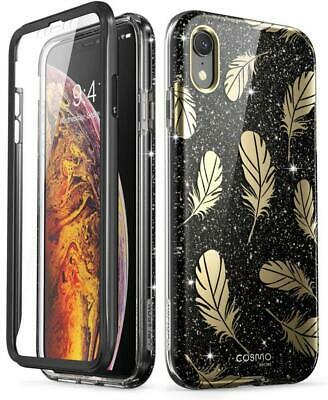 coque iphone noir xr brillant
