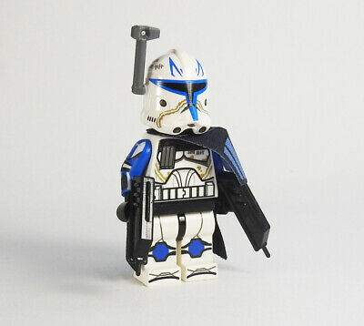 Lego Star Wars Minifigures-Clone Custom Troopers-Commandant Bly phase 1