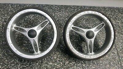 Baby jogger city mini single/double pair/2 rear/back wheels -fair condition 020