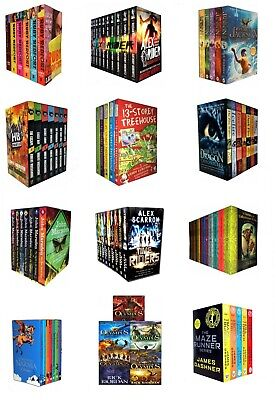 Young Adults Books Collection Set Alex Rider Hunger Games True Blood Divergent