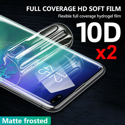 2pcs 9D Hydrogel Matte Full Screen Protector For Samsung Note 10 Pro S10 S9 Plus