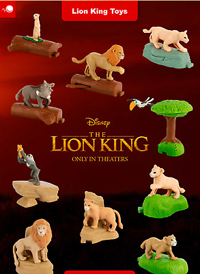 McDonalds 2019 The Lion King Happy Meal Toy - Brand New in Sealed Package