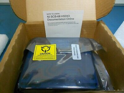 National Instruments 782914-01 - Shielded 68-Pin Connector Block
