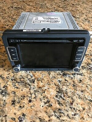 VOLKSWAGEN RCD-510 TOUCHSCREEN Radio 6 CD Player 1K0035188F w